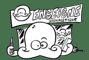 enseigne et signalétique