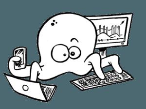 site internet web et réseaux sociaux