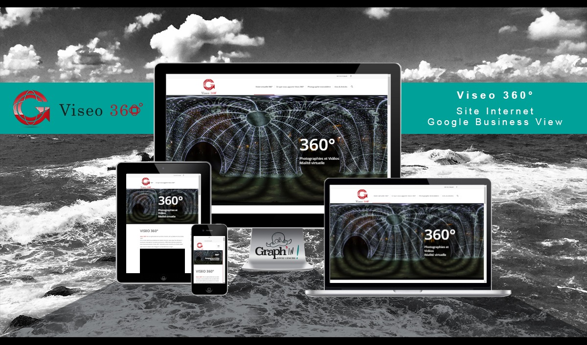 Site web Viseo 360° - Graph'in !