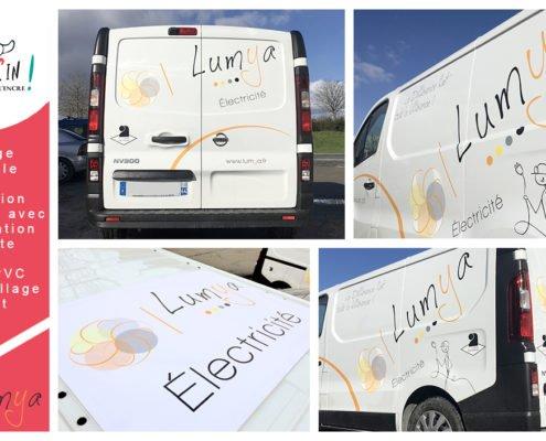 Flocage véhicule Lumya Nantes