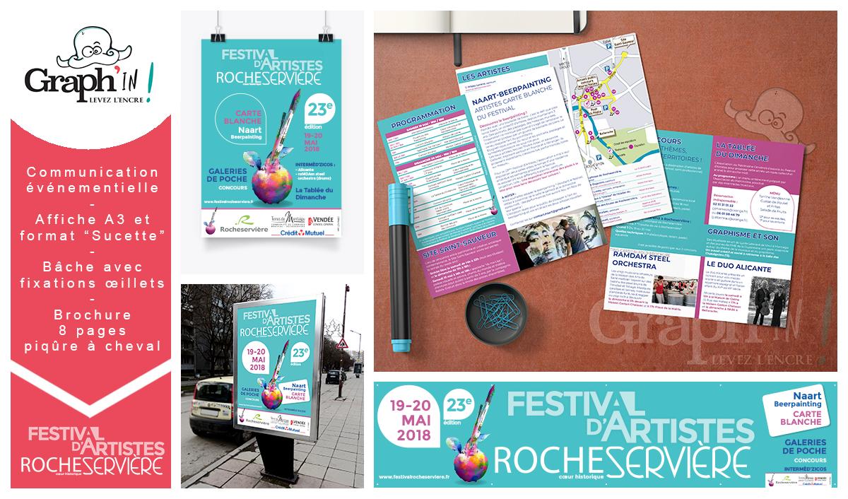 Communication événementielle Festival Vendée