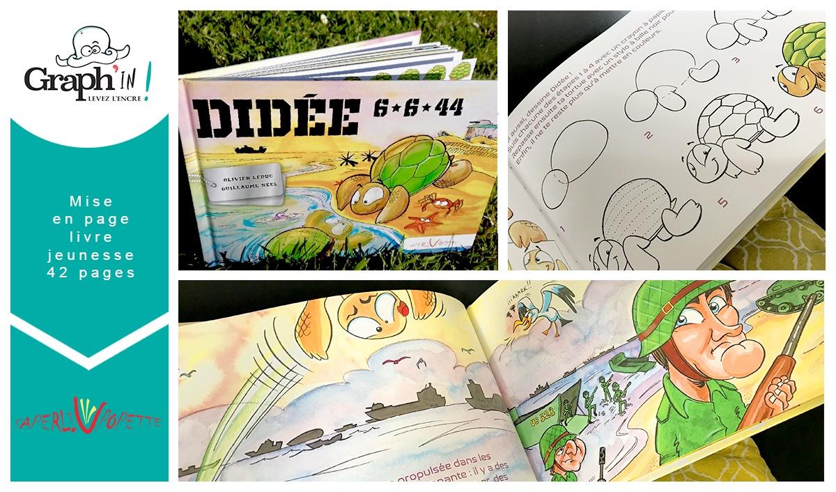 Livre Didée - Illustration Nantes Rennes Saint-Malo