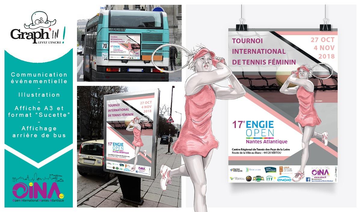 Affiche évènement sport Nantes