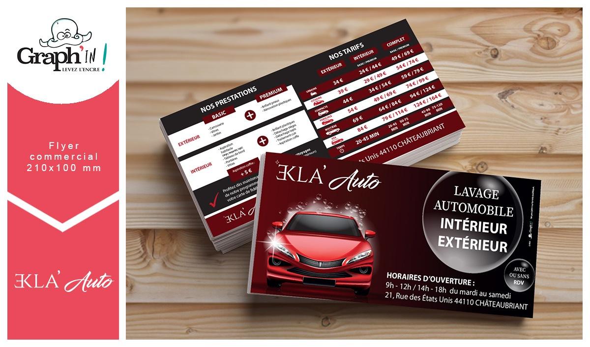 Flyer Châteaubriant Ekla Auto