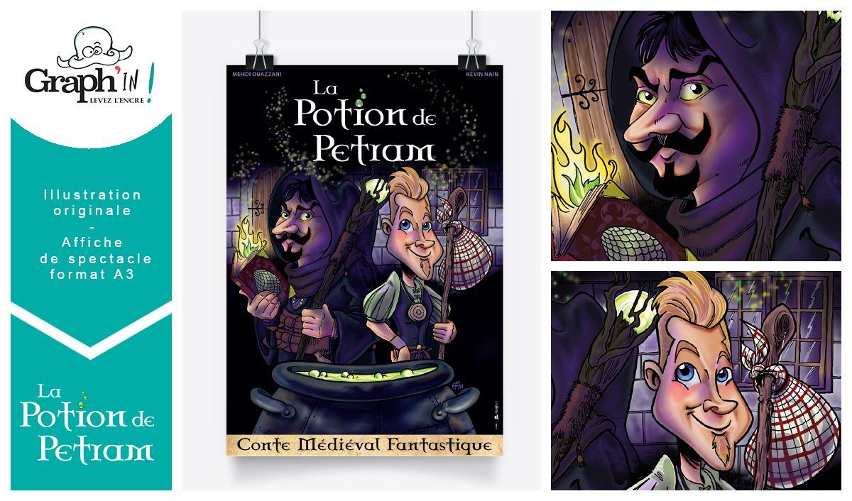 Affiche de spectacle Potion de Petram