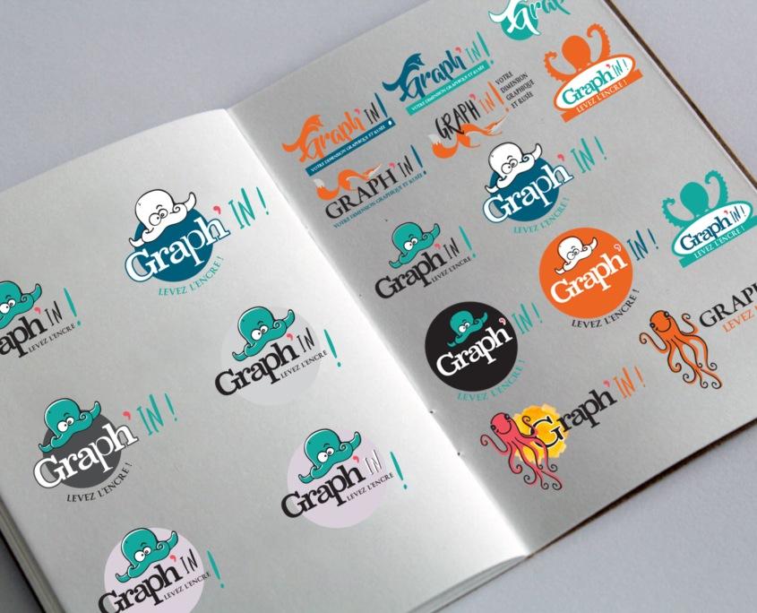 Création de logo Saint-Malo Rennes Nantes