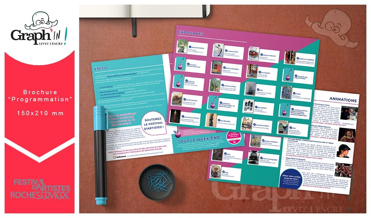 Brochure programmation festival Vendée