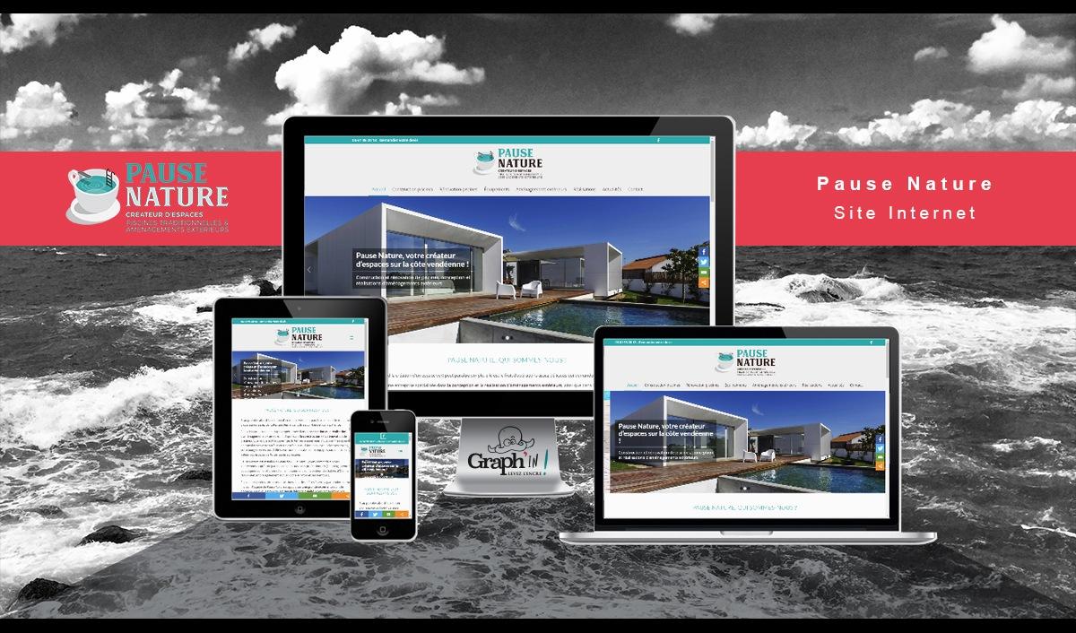 Site web Pause Nature Vendée