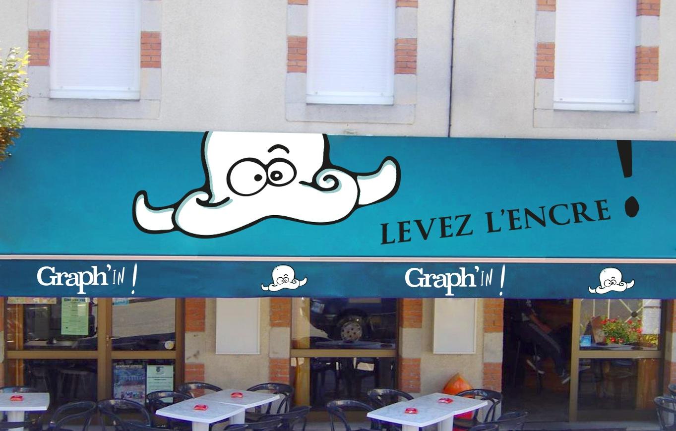 Signalétique enseigne restaurant Saint-Malo Rennes Nantes