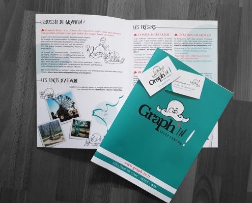 Plaquette, dépliant, brochure Saint-Malo Rennes Nantes