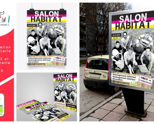 Affiche évènement Carquefou Salon de l'habitat