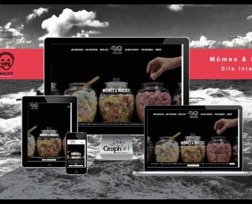 Site web Mômes & Malice Nantes