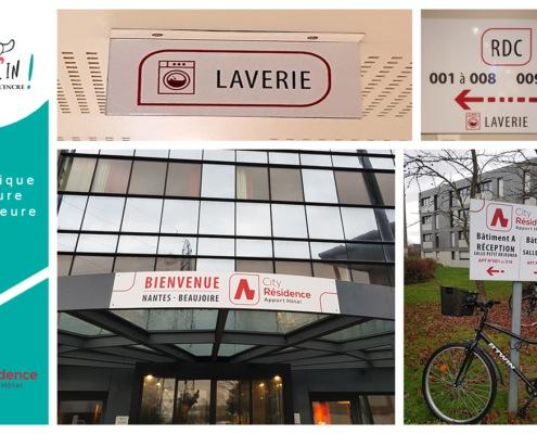 Signalétique intérieure extérieure Nantes