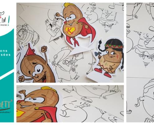 Illustrations personnalisées Kaouett' Rennes